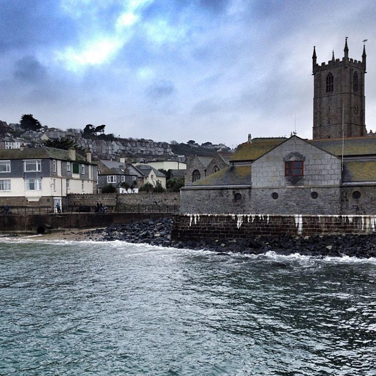 St Ives... #stives #sea #church #cornwall #improvedimage Sea Church Cornwall Improvedimage Stives