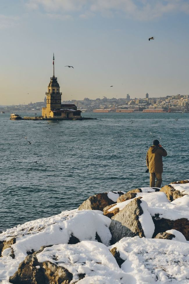 Istanbul Maiden Tower Turkey Travel Bosphorus Sightseeing