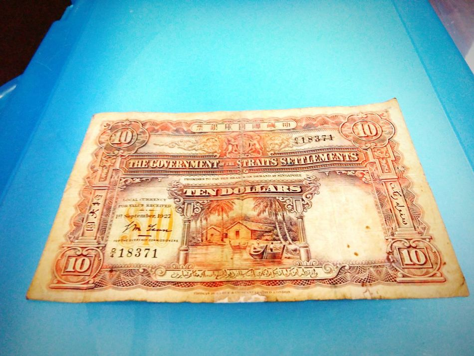 My Hobby collecting old banknote and coin. Taking Photos Oldpicture Collector Collection
