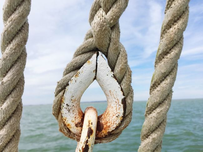 Sea Water Tranquility Circle Rope
