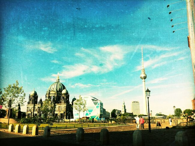 Wandering around at Schlossplatz Wandering Around