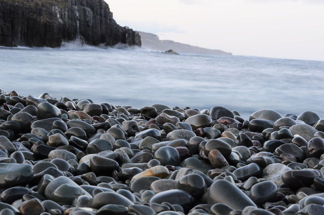 Atlantic Atlantic Ocean Beauty In Nature East Coast Eastcoast Life Holidays Middlecove Nature Newfoundland Ocean Life Pebble Priceless Rock Rocks Seascape Shore St John's Newfoundland Stone Surface Level Tranquility Water Reflections