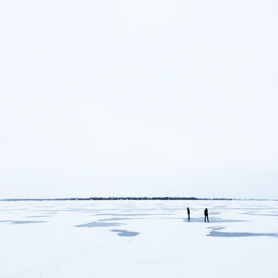 Isolation Ice Lake Ontario Frozen Isolation Canada Great White North Silhouette Snow Blank Muted Colors Peaceful Quiet Kingston Winter Wintertime The Portraitist - 2016 EyeEm Awards The Great Outdoors - 2016 EyeEm Awards Mix Yourself A Good Time