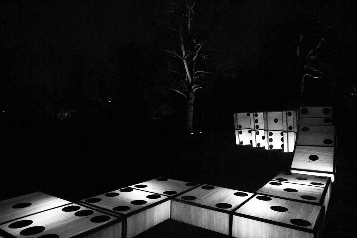 Gruga Grugapark Grugaparkessen Lichterwochen Black And White Friday