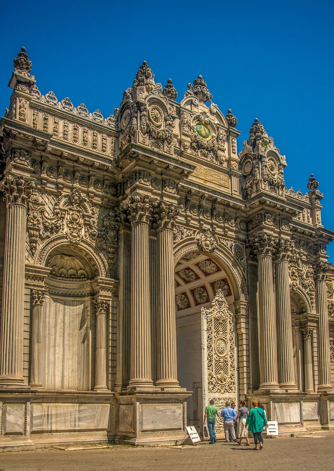 Gate Of The Sultan Dolmabahçe Palace /İstanbul Sultan Museum Bosphorus, Istanbul Ottoman Empire Turkey