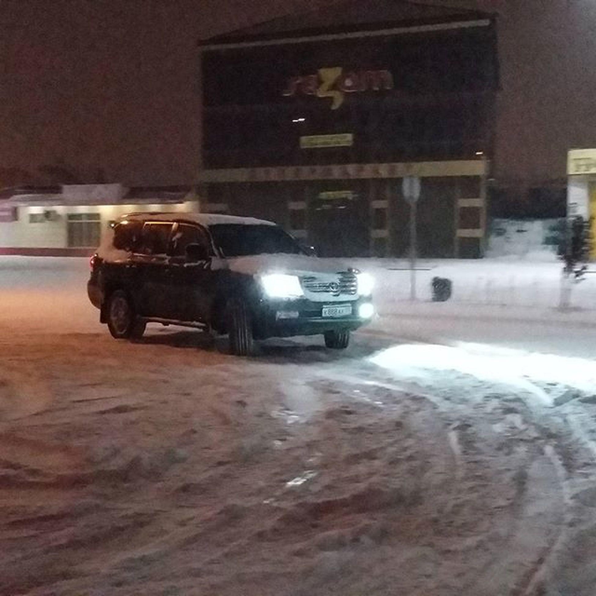 Toyota200 Bunker Dagestan Kaspiysk Show снег