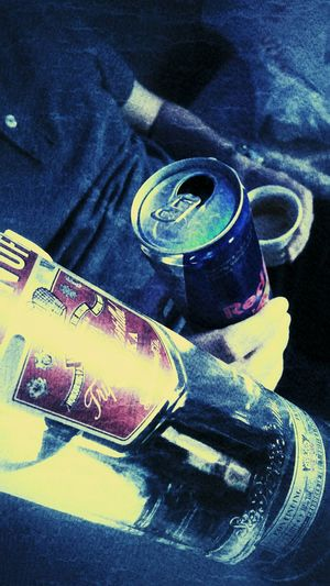 Black Color Vodka Time  Close-up Vodka&redbull Vodka🍹 Vodkaredbull