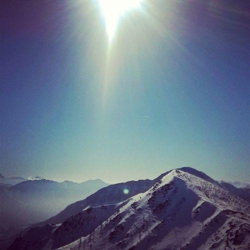 Snow Sun Sunshine Ski Skiing Winter Austria Goldeck Sportberg Beautiful Pannorama Sky Cloud Mountain High Mik Sport Amazing Loveit