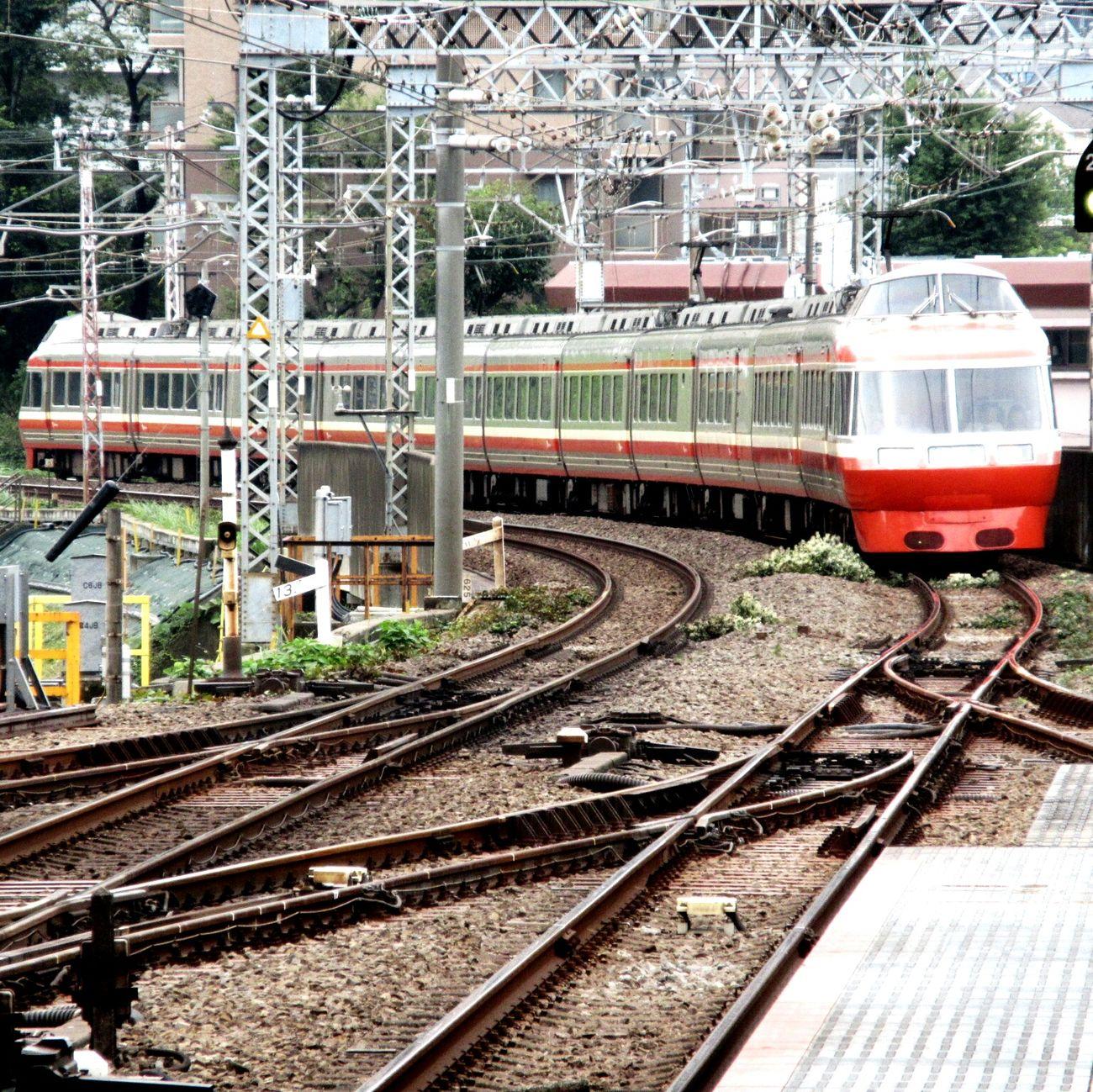 ロマンスカー 小田急 乗り物 鉄道 Train Trains