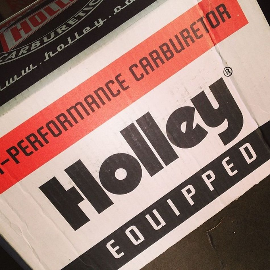 Running smooth as silk!! Holley Carburetor