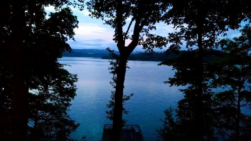 Tennessee this summer Lake Dusk Summer