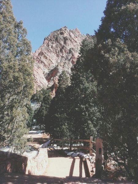Colorado Garden Of The Gods