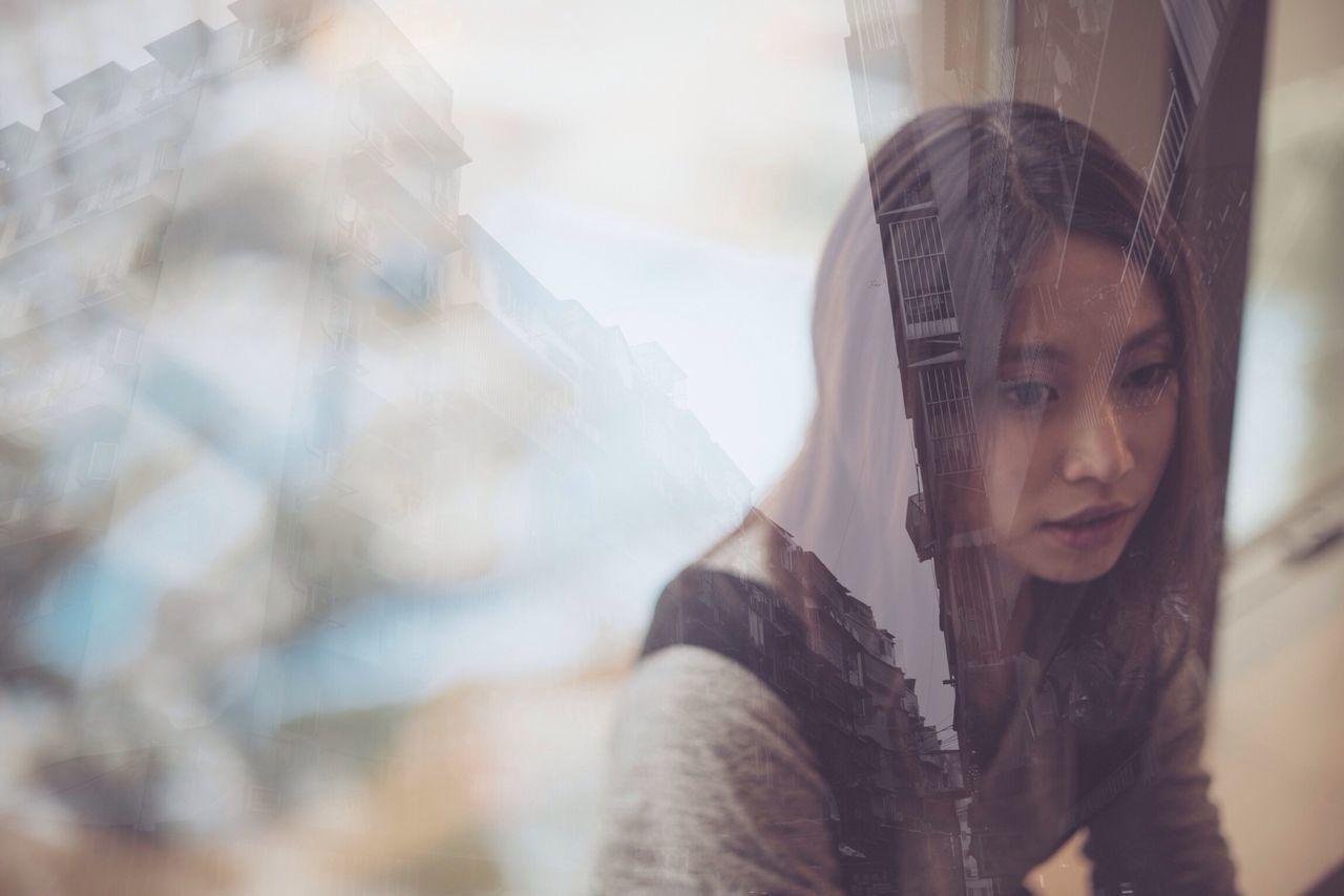 Beautiful stock photos of dream, Asian, Beautiful Woman, Contemplation, Day