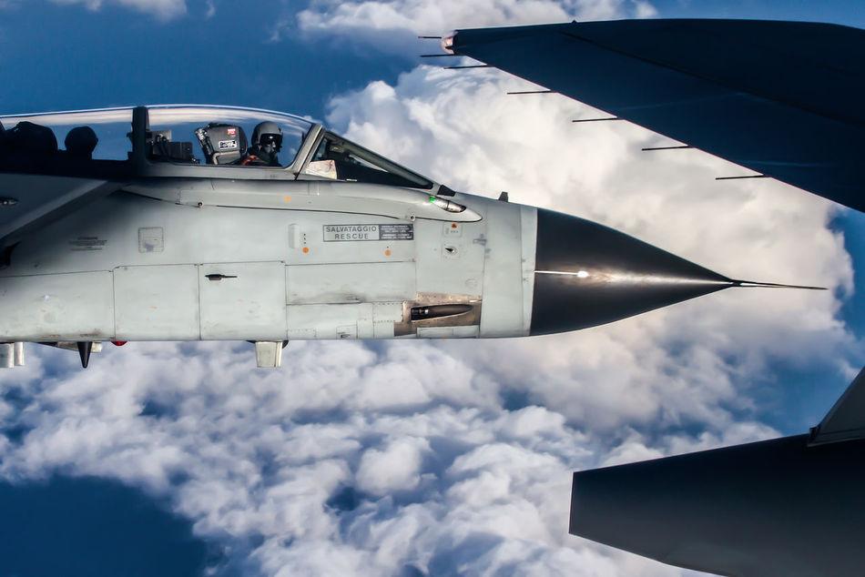 Beautiful stock photos of blau, Air Force, Air Vehicle, Aircraft Wing, Airplane