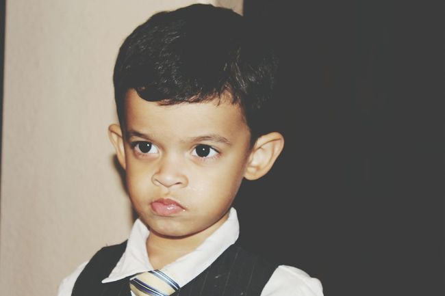 Toddler Swag Suit And Tie That Look Them Eyes Big Brown Eyes Handsome