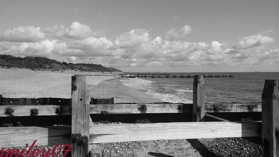 Shades Of GreyBeachphotography Sun&Clouds Beach Sun_collection, Sky_collection, Cloudporn, Skyporn Blackandwhite Photography