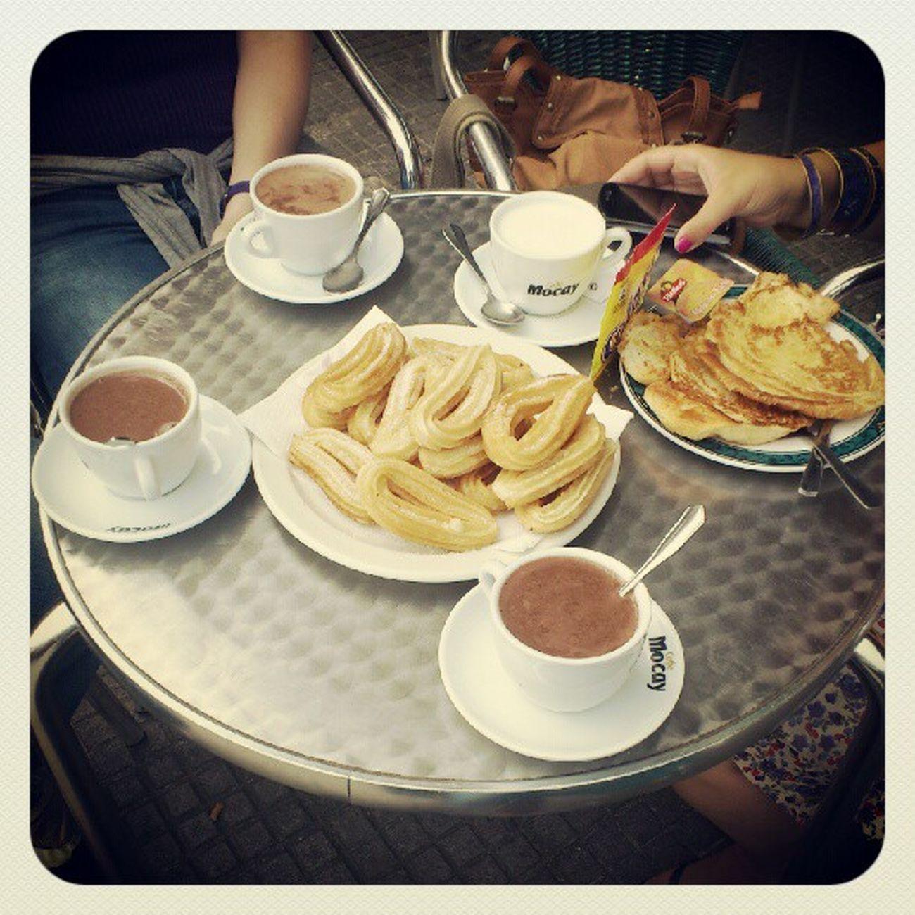 Bonprofit Esmorzar Chocolateconchurros
