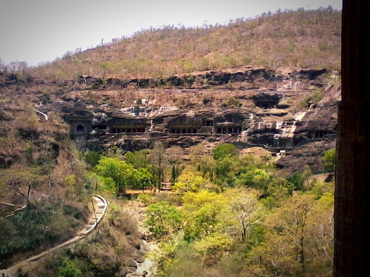Caves India Ancient Architecture Photography Beautiful Sculpture Nature Ajantacaves Forest Forestwalk Hill Views