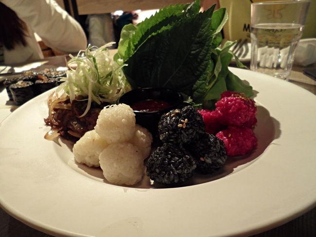 Girlstime  Korean Food Mouthwatering Salad Schoolfood