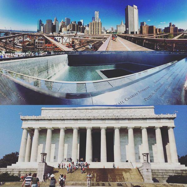 Memories Hello World Taking Photos Aroundtheworld New York Washington Memorial ❤