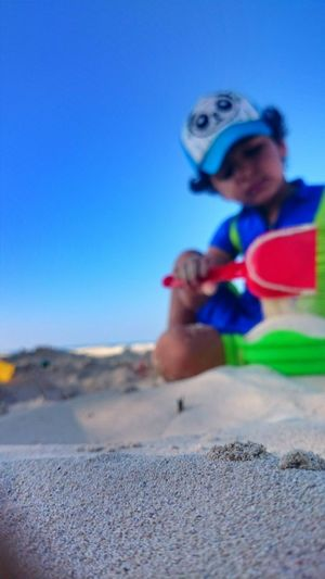 Child Northcoast Beach Colour Of Life Fun Sand Playing Macro Focus Maximum Closeness Focus Object Focusobject Enjoy The New Normal My Year My View