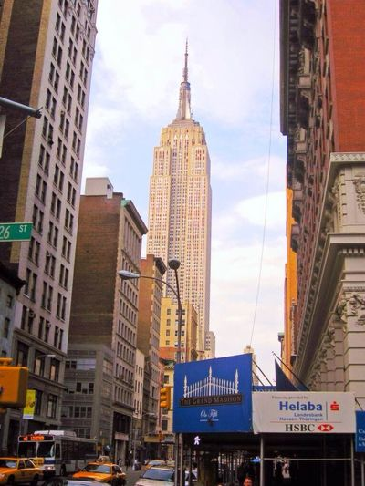 The Empire State Building a symbol of human geniuses in New York City