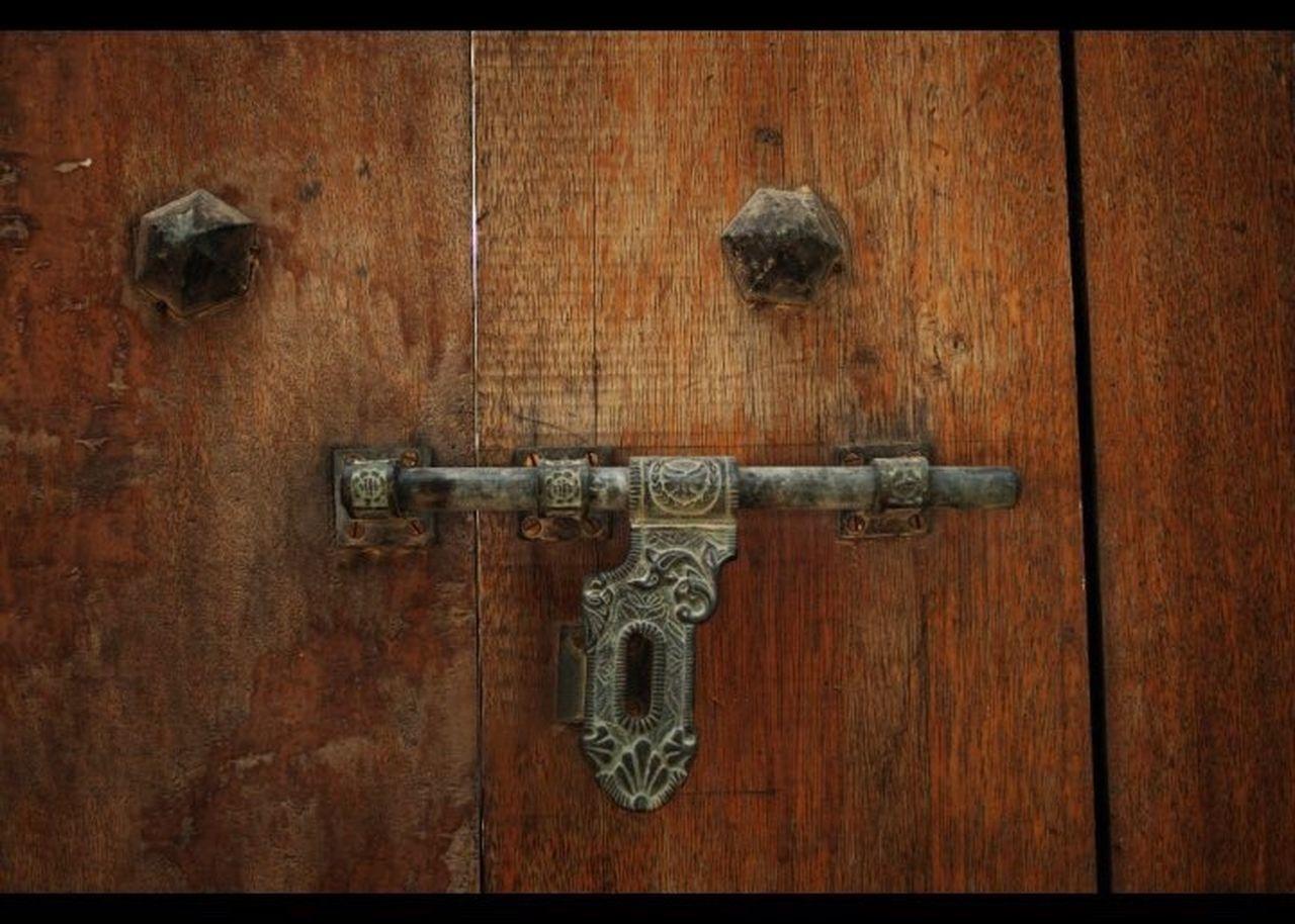 Al Ain Alain UAE Oasis Door Lock Detail Ironmongery History Heritage