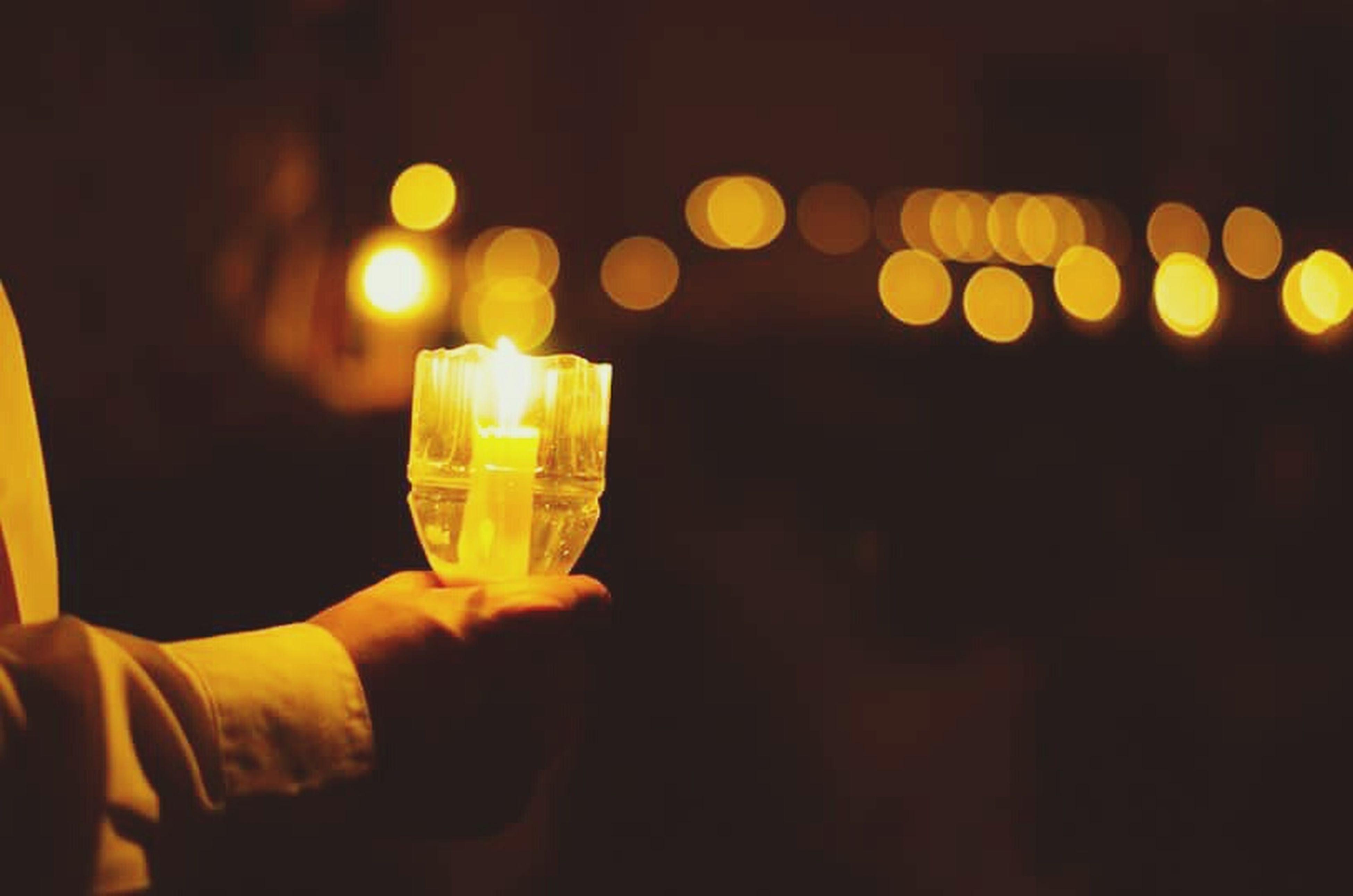 illuminated, lighting equipment, night, indoors, yellow, lit, glass - material, lantern, close-up, glowing, dark, light - natural phenomenon, focus on foreground, light bulb, electricity, light, electric light, decoration, candle