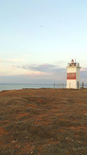 Lighthouse in Sevastopol  Bilding Architecture Landscape Sea Sunset Sky And Clouds Beautiful Nature Beauty In Nature Outdoors Crimea