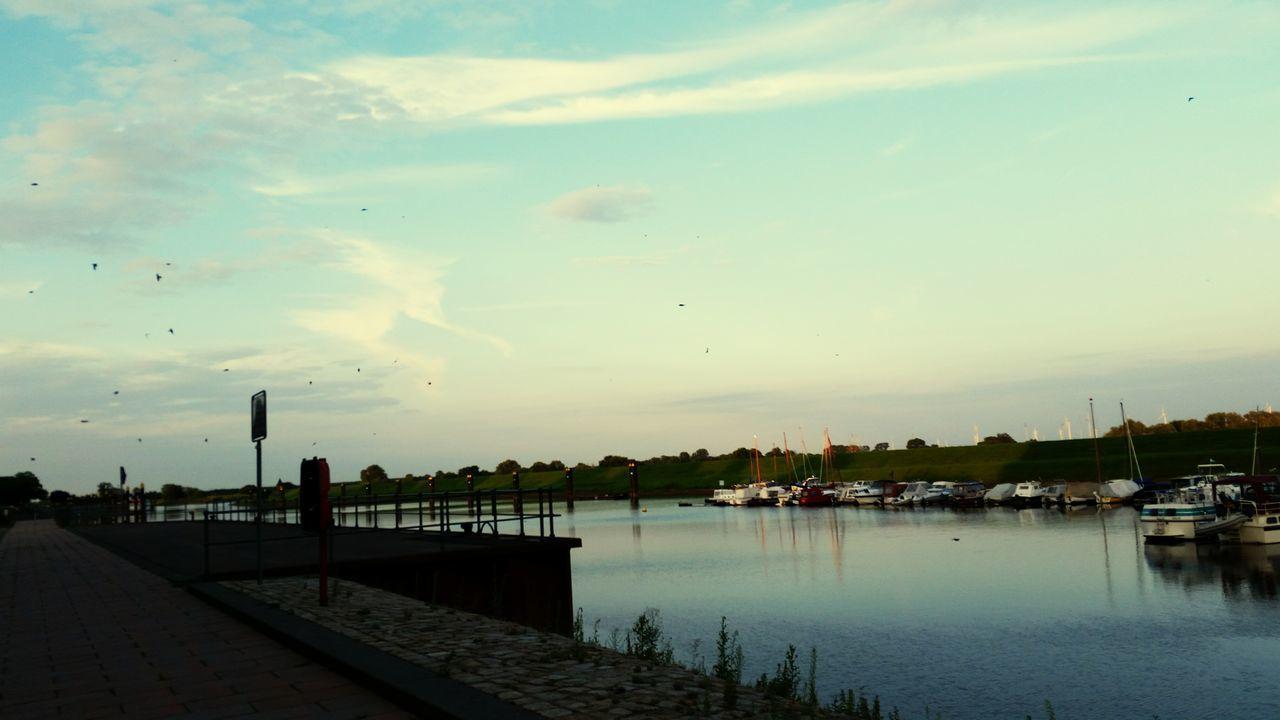Tangermünde Abendstimmung EyeEm Nature Lover Eyeemphotography Hafen