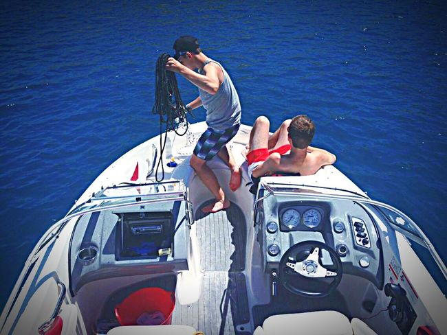 Chilling With Friends Relaxing Taking Photos Enjoying Life On The Boat Hanging Out Vacation Drifting Away Sun Sea