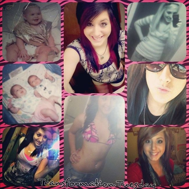 Transformation Tuesday! !! From baby to know(: growing up haha Blaah Fatbaby Seniornow Loveit bored
