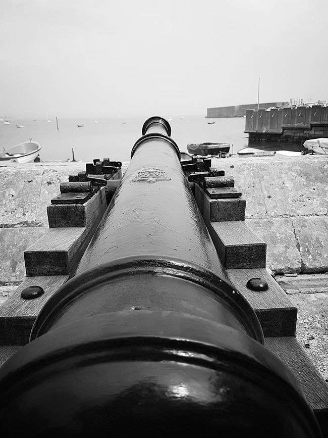 Enjoying The View Cannon Hanging Out 16th Century Fortress Fort Sea Defence Sea Defences