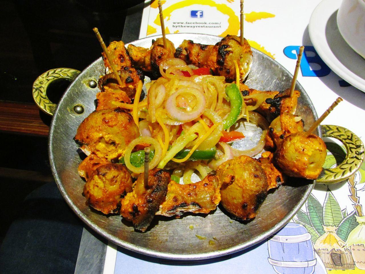 Food Porn Awards Mushrooms Magic. Mushrooms Indian Style Tasty😋 Spicy Food Having Dinner HUNGRYYYYY!!!!