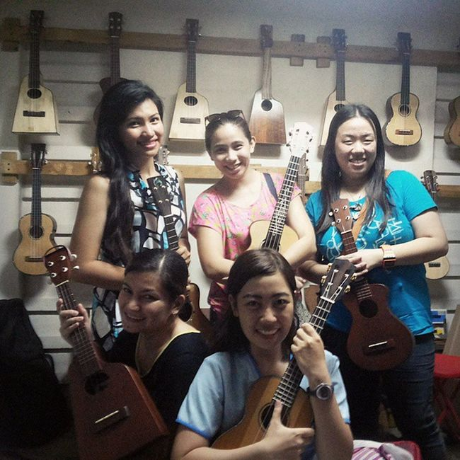 Black Strings? Or G Strings? ;) Nurses turned musicians!!! Uke Got More Fun with Huni Ukuleles... Thanks for dropping by and buying Huni ukuleles :) Huniukuleles Ukecebu UkeBoxCaffeè BlackStrings UkeNurses AfterDutyShopping Randomnight Chillmode Ukedaily Pinoypride Garbobisaya
