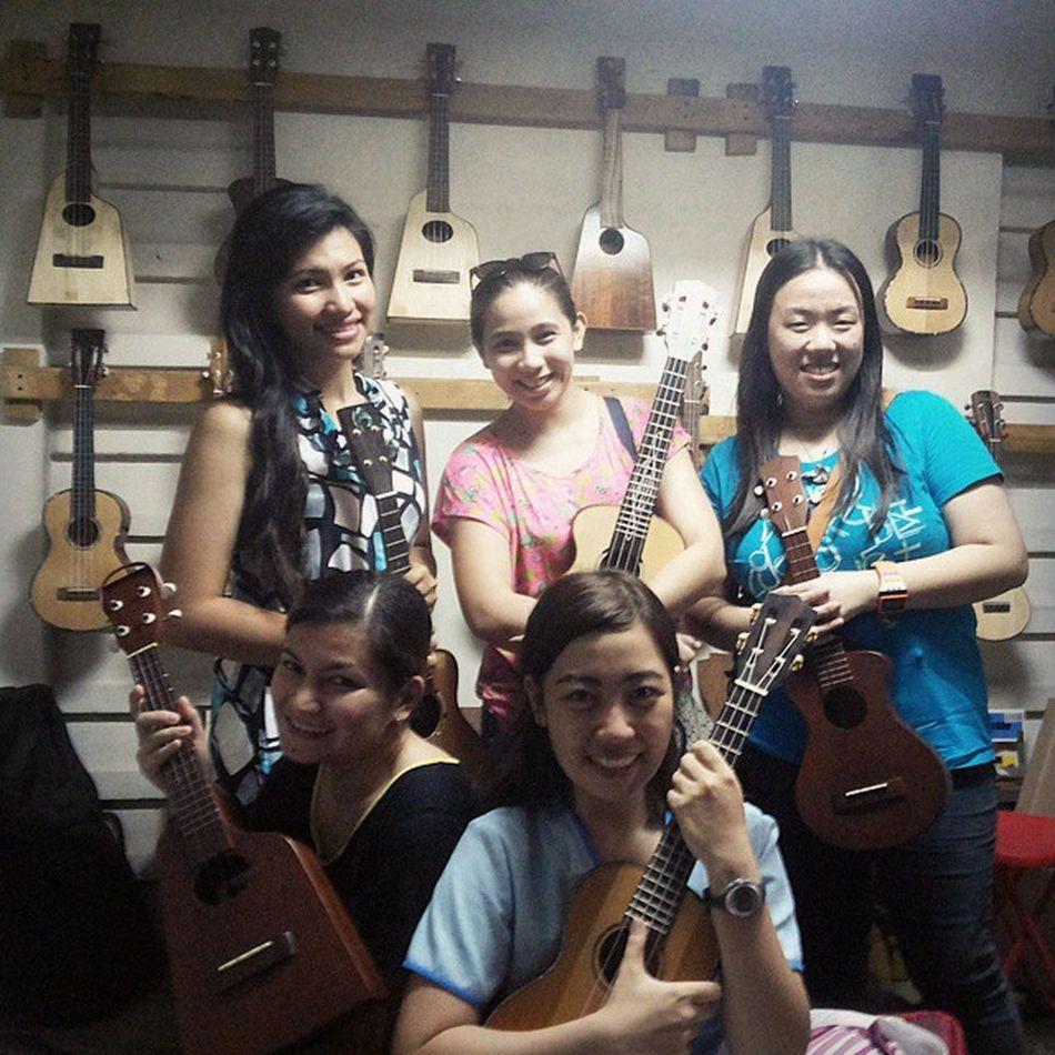 Black Strings? Or G Strings? ;) Nurses turned musicians!!! Uke Got More Fun with Huni Ukuleles... Thanks for dropping by and buying Huni ukuleles :) Huniukuleles Ukecebu UkeBoxCaffeè BlackStrings UkeNurses AfterDutyShopping Randomnight Chillmode Ukedaily Pinoypride Garbobisaya