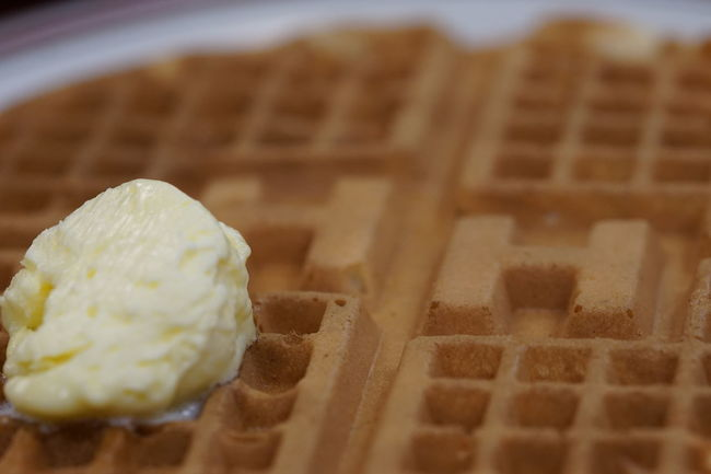 Waffles at the Huddle House. Butter Food Food And Drink Food Porn Freshness Huddle House Indulgence Macro Macro Photography Ready-to-eat Restaurant Selective Focus Showcase March Sony A6000 Sweet Food Table Waffle Waffle Time Waffles