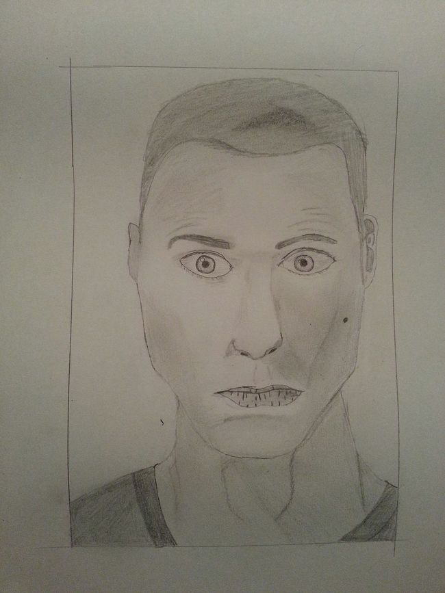Sheldon Sheldoncooper Jimparsons Jim Parsons Tbbt Thebigbangtheory Drawing Pencil Portrait Pencil Sketch
