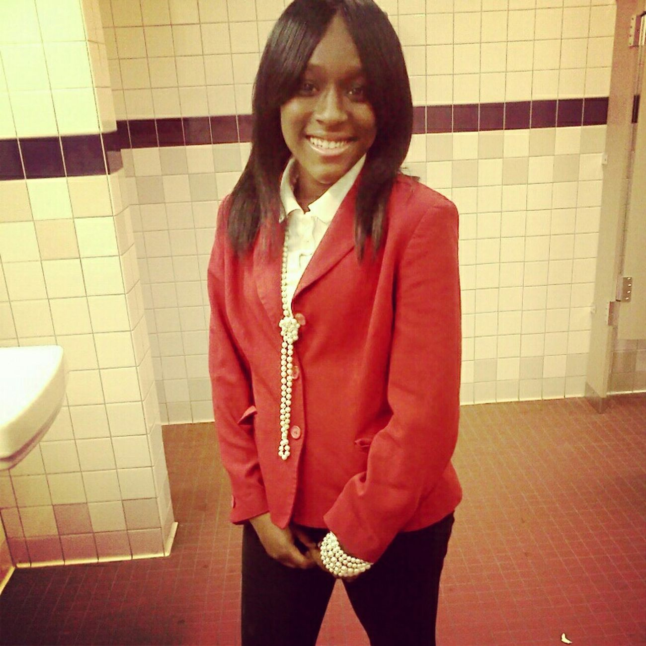 Yesterday at school