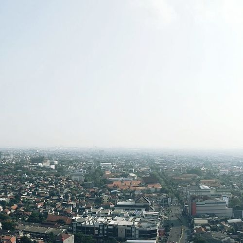 From the 30th floor Cityview Semarang Buildings Noon Cityland Rooftop Latepost Imbadathashtags