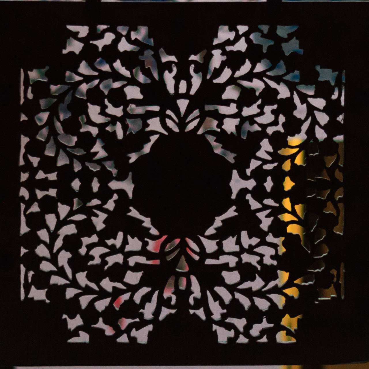 Art Decoration Design Geometric Shape Light And Dark Light And Shadow Pattern Wood Cut