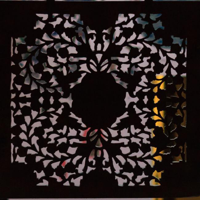 Art Decoration Design Geometric Shape Light And Dark Light And Shadow Pattern Wood Cut