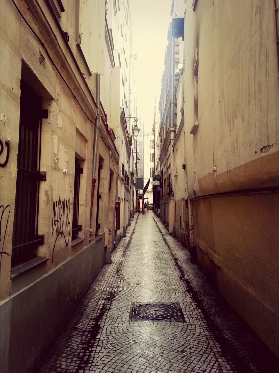 View Of Narrow Alley