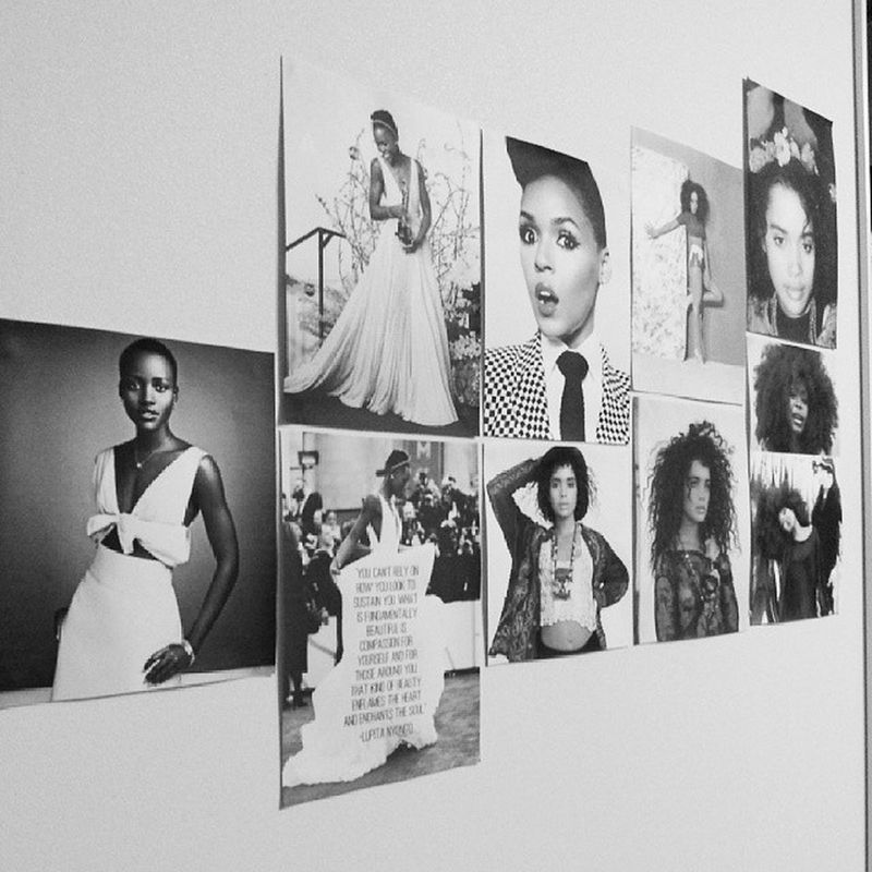 Nothing but queens on my wall Lisabonet Janelmonae LupitaNyongo ErykahBadu solangeknowles