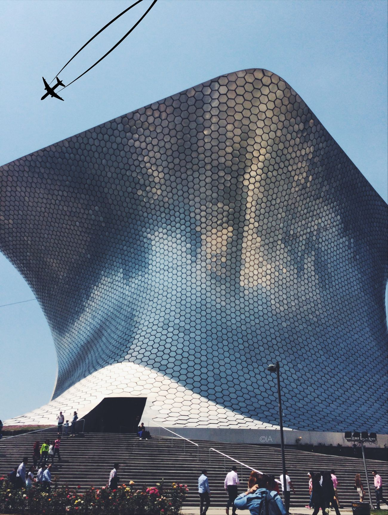 South Streetphotography EyeEm Best Shots - The Streets Museo Soumaya, México city DF 💚❤️🇮🇹💚❤️ Museo Soumaya