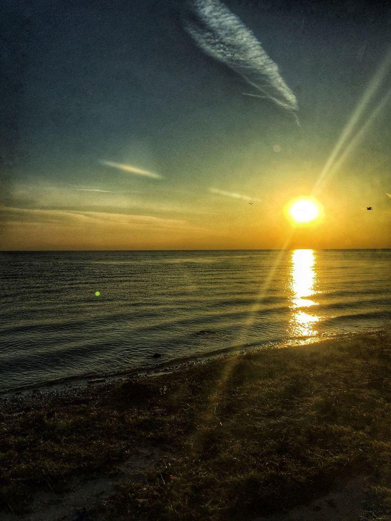 Enjoying Life 7am  Mitilini Seaside Sunrise