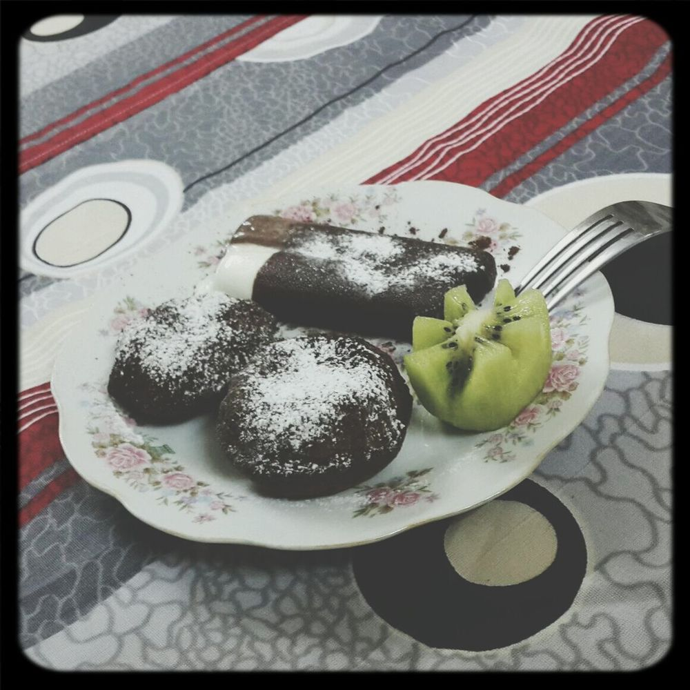 Chocolate Fondant by me ??