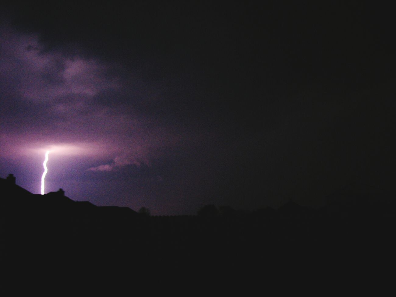 Lighting during a thunderstorm in Wylie, Tx Check This Out First Eyeem Photo