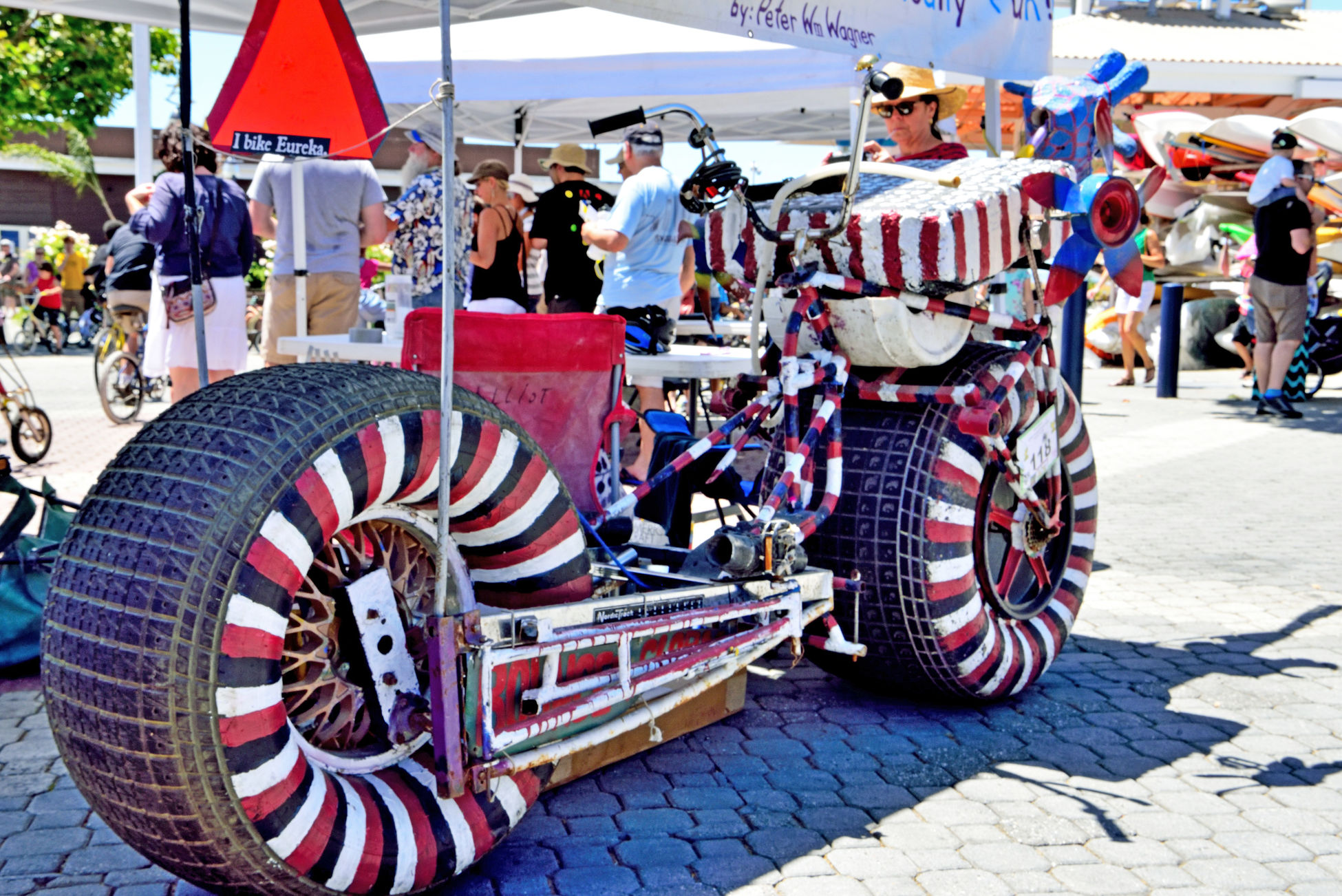 Bikes Of All Types 4 Peddle Fest @ Jack London Square Oakland, Ca. Festival Bicycles Bicycling Bikes Custom Bicycles Antique Bikes Kids Bikes Bikeporn Bicycle Heaven Have A Good Time Having Fun Having Fun With Photography People Watching Family Time