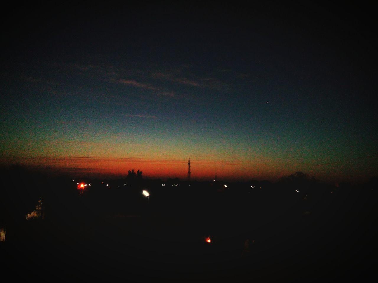 dark, night, silhouette, sky, sunset, nature, no people, illuminated, beauty in nature, outdoors, scenics
